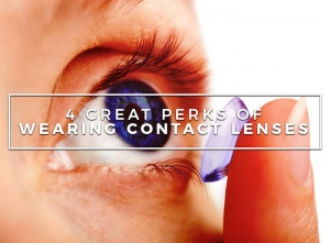 4 Great Perks of Wearing Contact Lenses